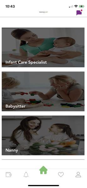 NannyPod App - Services