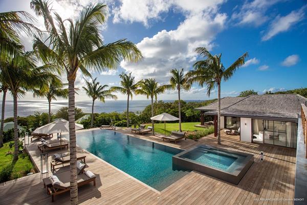 A private villa in St Barths, which includes 24/7 concierge service from WIMCO Villas