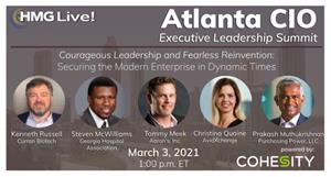 2021 HMG Live! Atlanta CIO Executive Leadership Summit