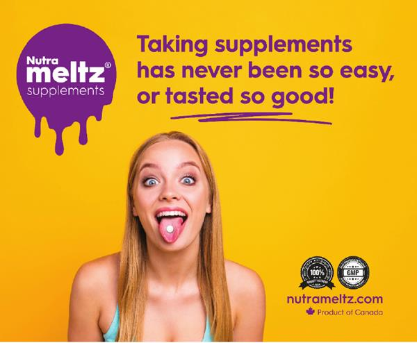 Nutrameltz, a Canadian health and wellness company, will soon introduce fast-dissolving tablets to more than 70 percent of American adults who take dietary supplements.