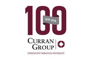 Curran Group 100 Year Logo