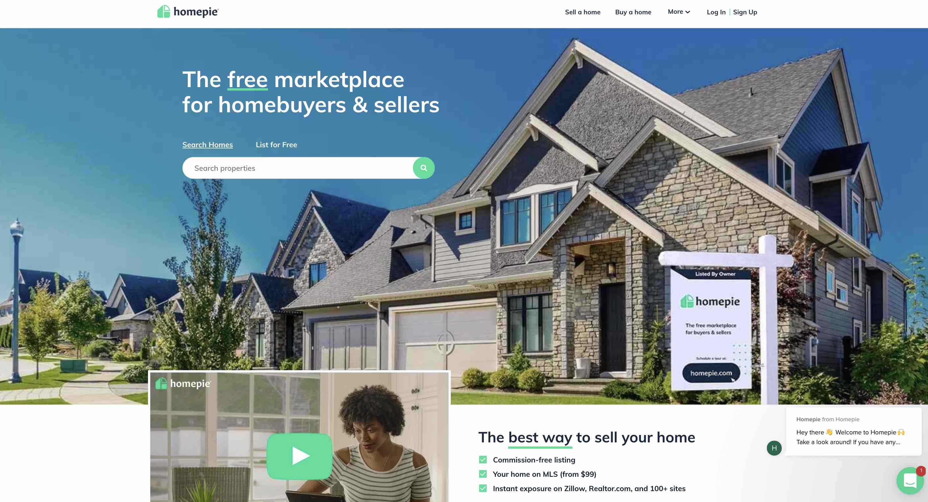 Homepie, Inc., is a leading provider of do-it-yourself tools for home buyers and sellers. Learn more at homepie.com.