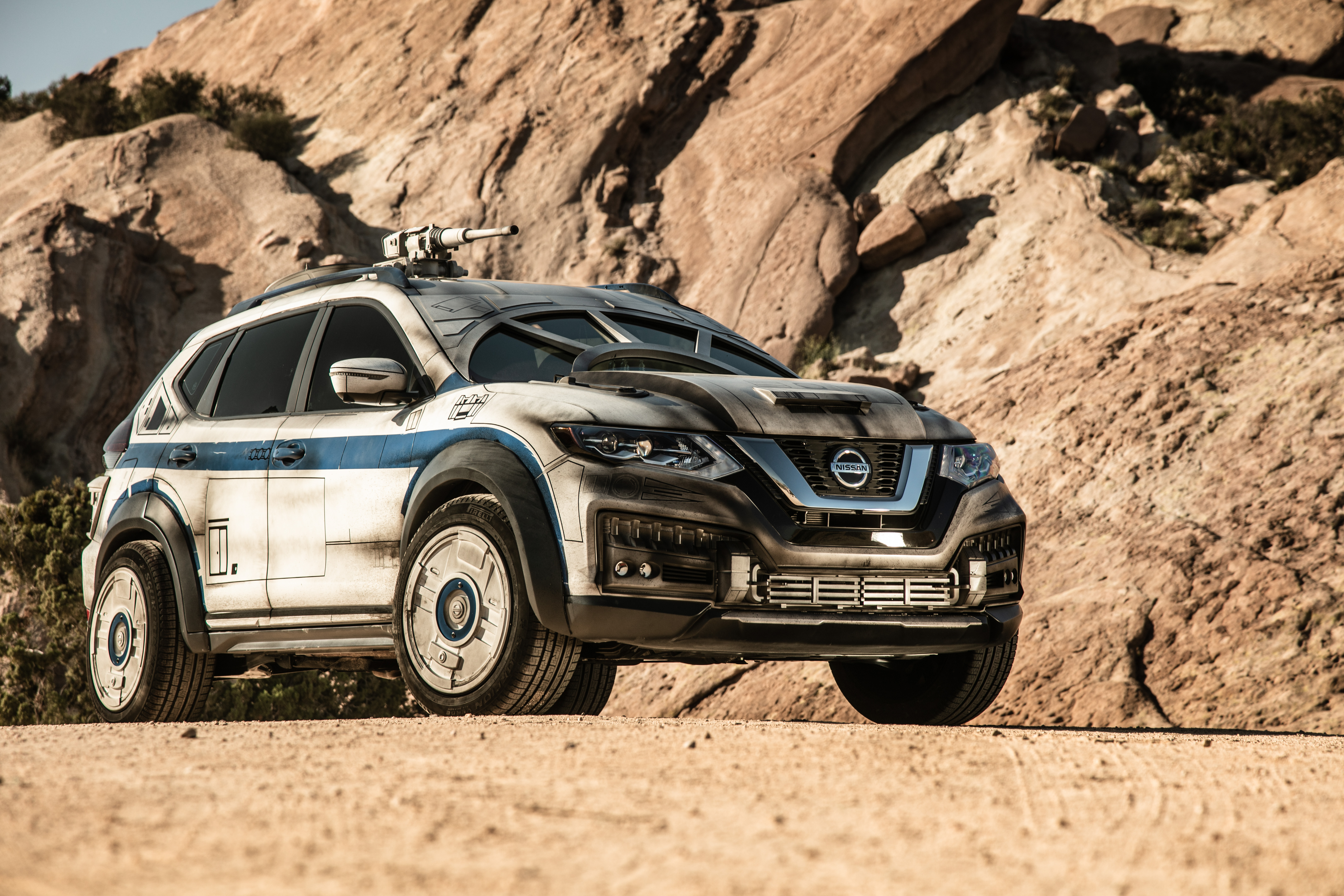 Nissan Rogue Star Wars Show Vehicle