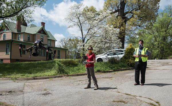 UPS Team at Last Mile Exercise in Virginia