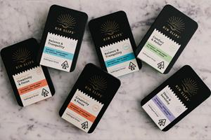 Kin Slips are currently available throughout California in four formulations: Cloud Buster, Float On, Park Life and Shut Eye