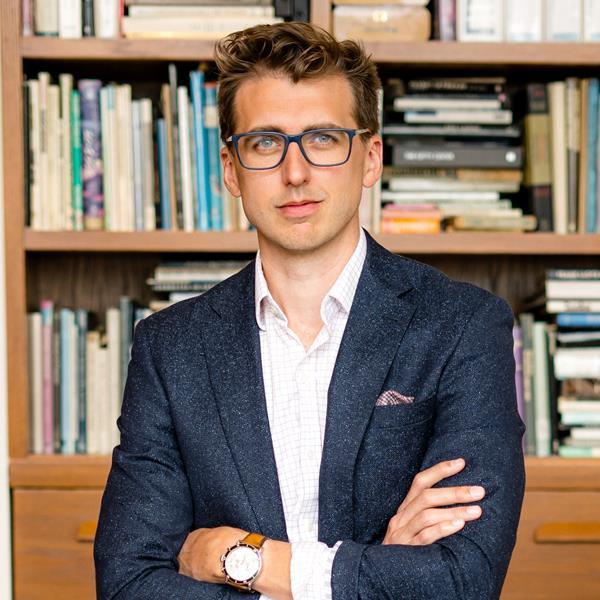 Nicolas Wegener, founder and CEO of SendSquared