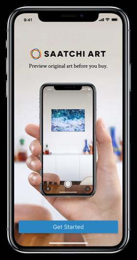 Saatchi Art Releases Updated Mobile App
