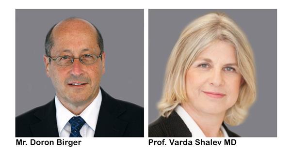 Pluristem Appoints Prof. Varda Shalev MD and Mr. Doron Birger to Join its Board of Directors