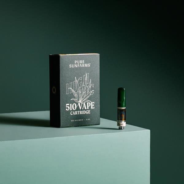 Pure Sunfarms High THC Vape