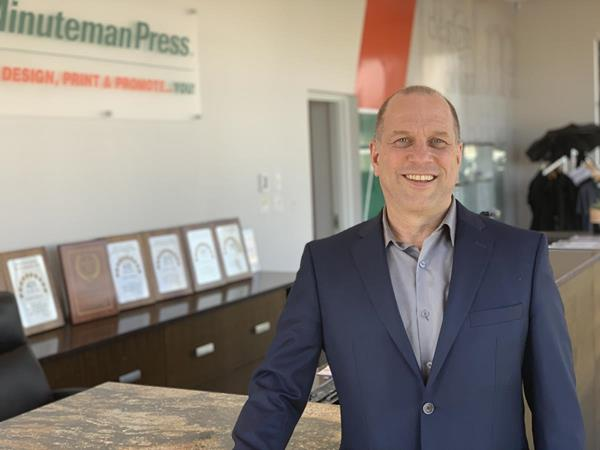 Minuteman Press Franchise Surrey British Columbia Canada - Doug Frederickson