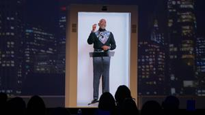 Bestselling author of The Pursuit of Happyness and Permission to Dream, Chris Gardner gave his keynote in hologram form to the world's top hotel executives at the Associated Luxury Hotels International Executive Exchange meeting at the Terranea Resort in Palos Verdes, CA on September 28th, 2021. Gardner gives 200 talks a year and announced he intends to do them via PORTL from now on to reach more people safely and sustainably. More info at PORTLhologram.com