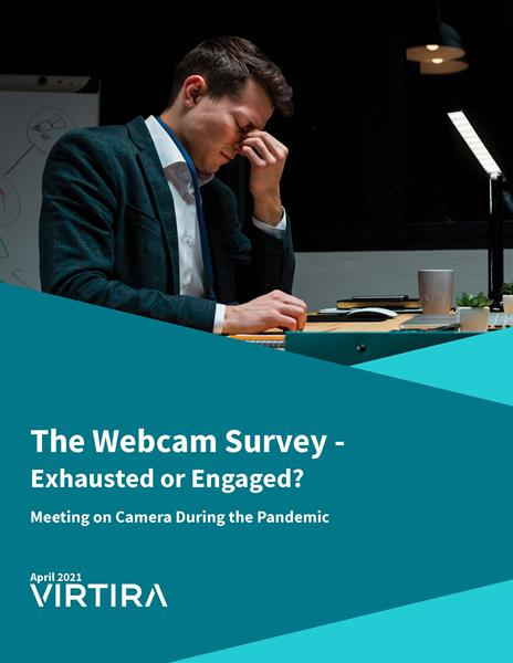 Virtira Survey Reveals Fatigue and Anxiety from Pressure To Meet on Camera