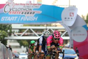 Hong Kong Cyclothon 2017 Speeds over Iconic Bridges