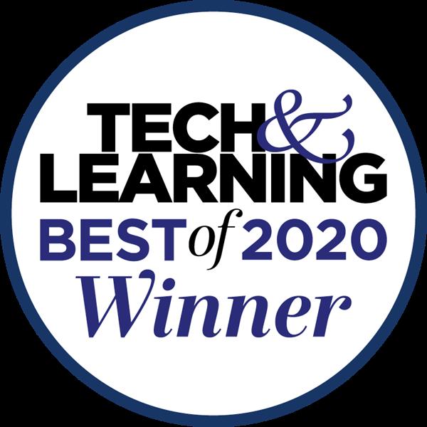 Tech & Learning Best of 2020 Winner