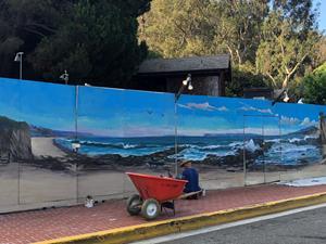 Sawdust Art & Craft Festival Mural