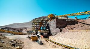 Tertiary crushing circuit pre-commissioning commenced