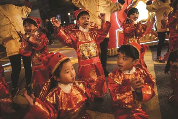 The Hong Kong International Chinese New Year Night Parade