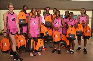Sisters Keeper Basketball and Sunwing Foundation Flying Start program