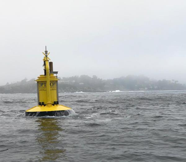 OPT PB3 PowerBuoy Deployed in Chile