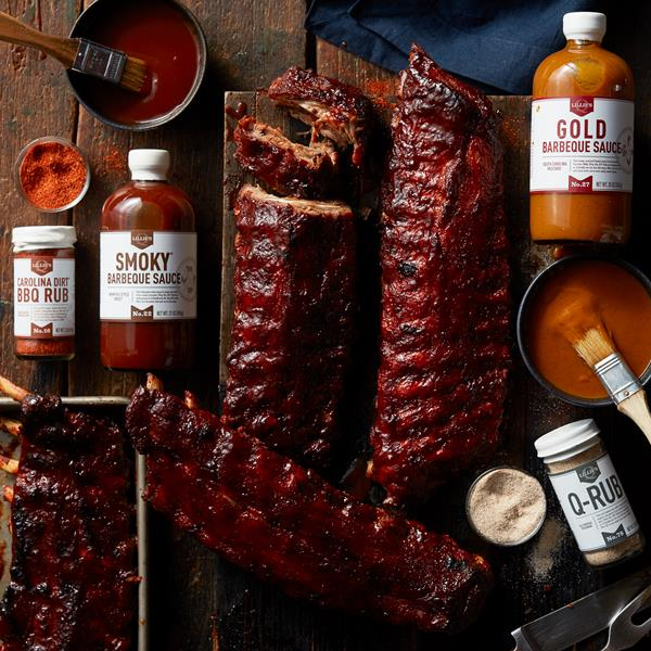Deluxe Pork Ribs & Complete Barbeque Gift Set (1)