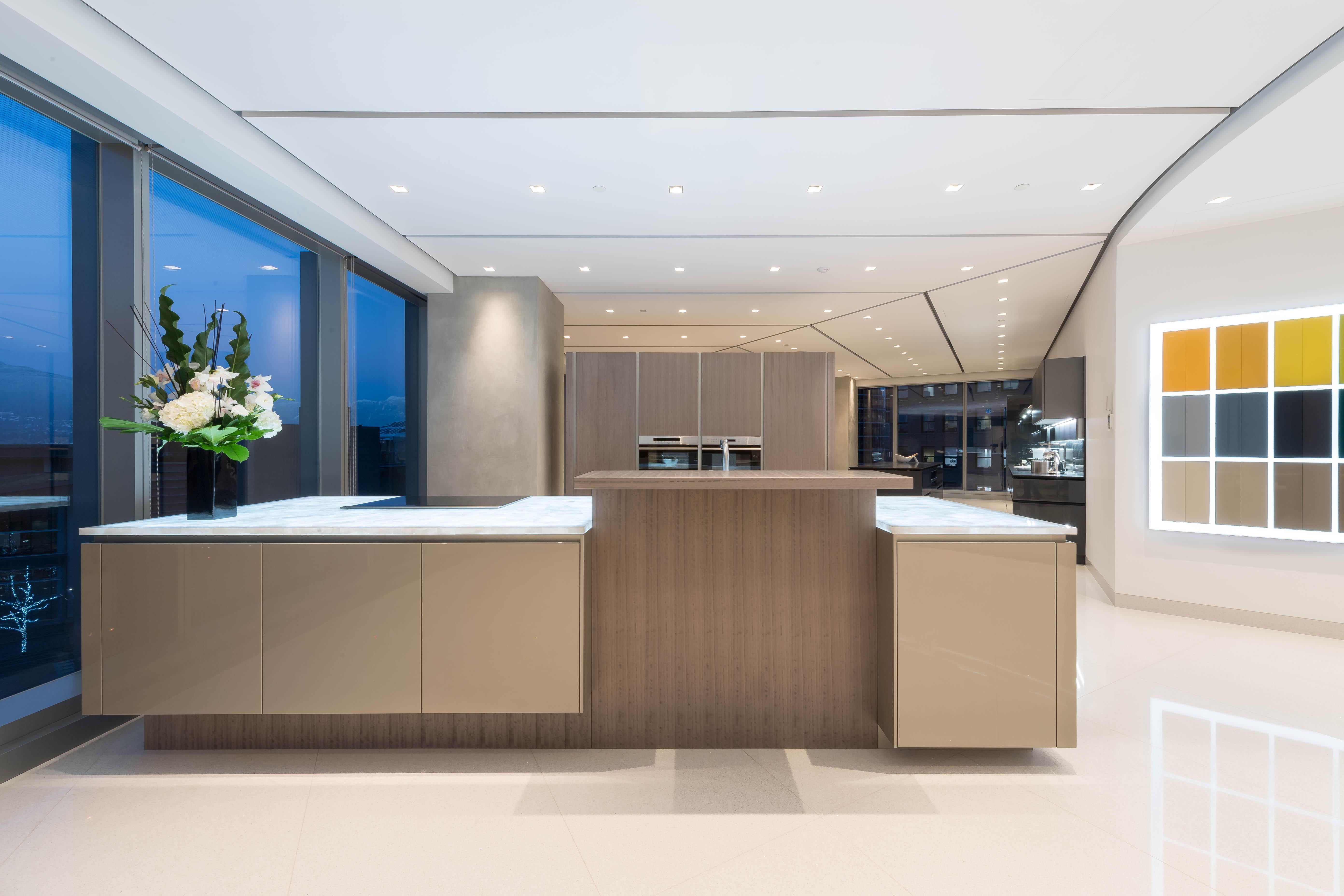 luxury kitchen showroom, studio snaidero vancouver expands to