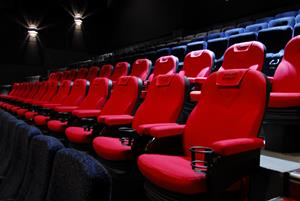 D-BOX motion seats in rows_cineplex