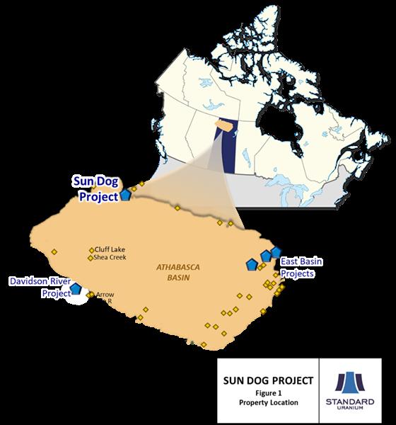 Fig 1 Sun Dog Location Map Dec 8 2020
