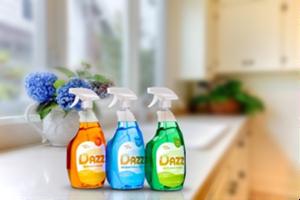 DAZZ spray cleaners