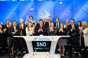 Smart Sand, Inc. (Nasdaq: SND) Rings The Nasdaq Stock Market Opening Bell in Celebration of its IPO