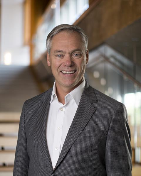 Hardy Wentzel, CEO of Structurlam Mass Timber Corporation