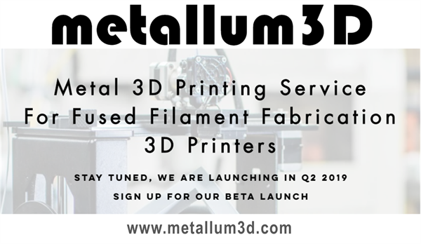 CIT GAP Funds has invested in Charlottesville, Va. company Metallum3D. The company offers affordable and accessible metal 3D printing through combined low cost, high performance, Fused Filament Fabrication 3D printers with our patent pending metal 3D printing filaments and Microwave Densification process to create an affordable and accessible metal 3D printing service that delivers exceptional value.