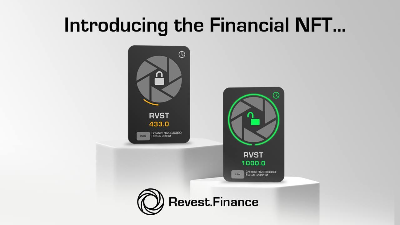 Revest Finance Announces the Financial NFT Smart Vault 1