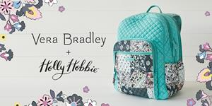 Vera Bradley + Holly Hobbie Backpack Collaboration
