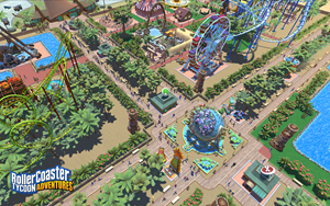 RollerCoaster Tycoon® Adventures — Casual Entry in the Best