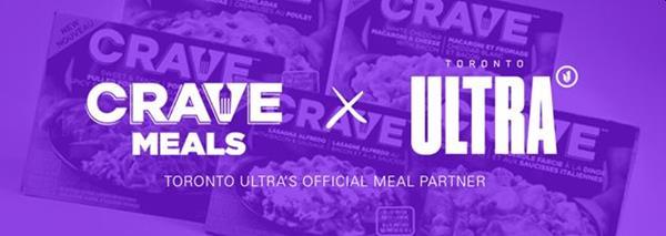 CRAVE Meals X Toronto Ultra