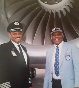 Capt. Eugene Richardson and Father