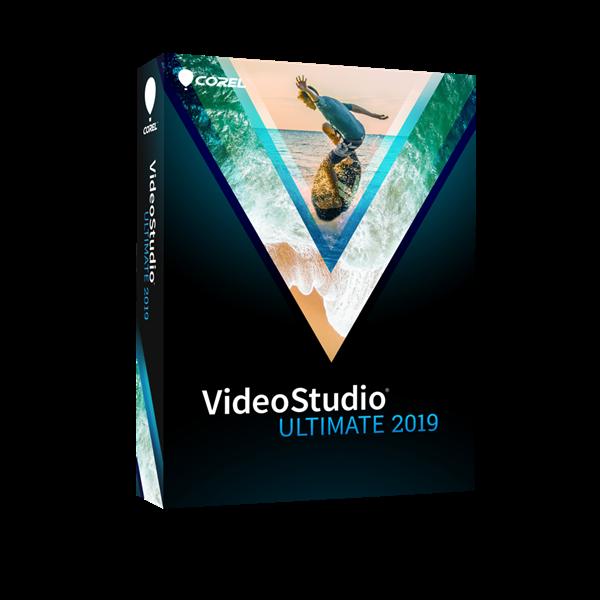 VideoStudio Ultimate 2019 Box