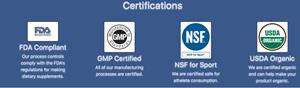 ANP certifications