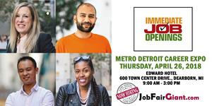 Michigan Job Fair - April 26, 2018