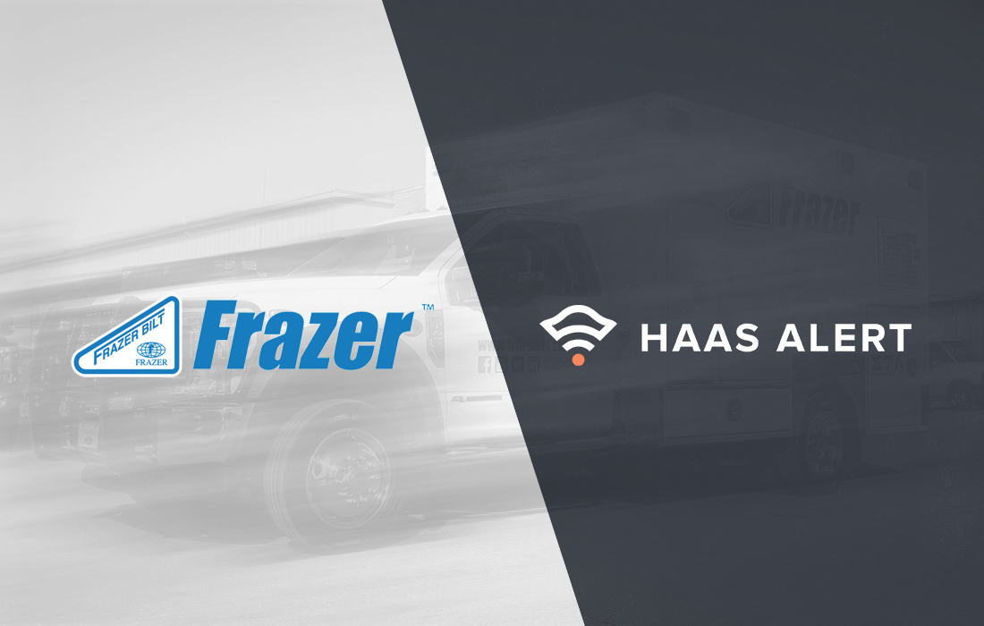 Frazer EMS Vehicles to Come Standard with HAAS Alert's Digital Alerting Safety Service