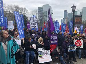 More than 10,000 protest to tell Ford Government to stop