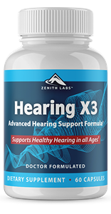 Zenith Labs Hearing X3 For Tinnitus - Ingredients & Side Effects