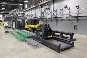 Aerojet Rocketdyne Motor Carbon Fiber-Winding Machine