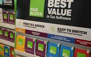H&R Block installed software