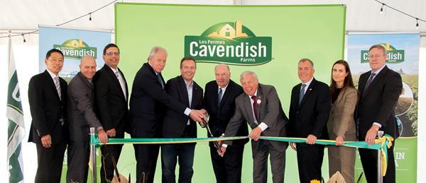 Cavendish Farms Lethbridge Ribbon Cutting