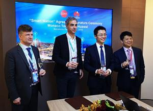 Monaco Telecom  - 606117 - Monaco Telecom and Huawei Sign a New Strategic Agreement on Internet of Things to Support 5G Nation Project Initiated by Monaco
