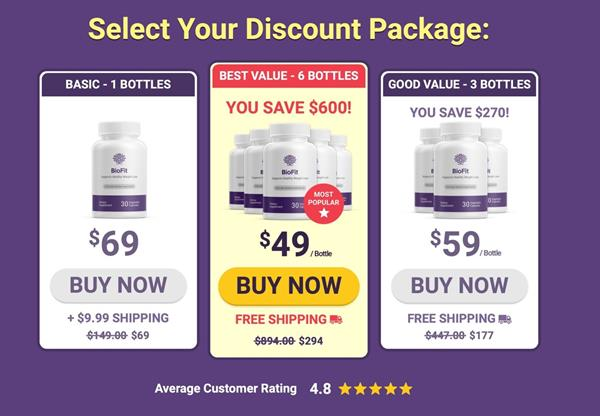 BioFit: Get Lean With GoBioFit Probiotic Weight Loss
