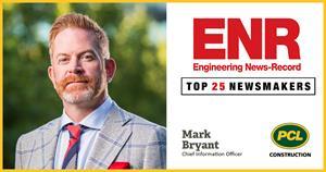 PCL Construction's CIO is an ENR Top 25 Newsmaker