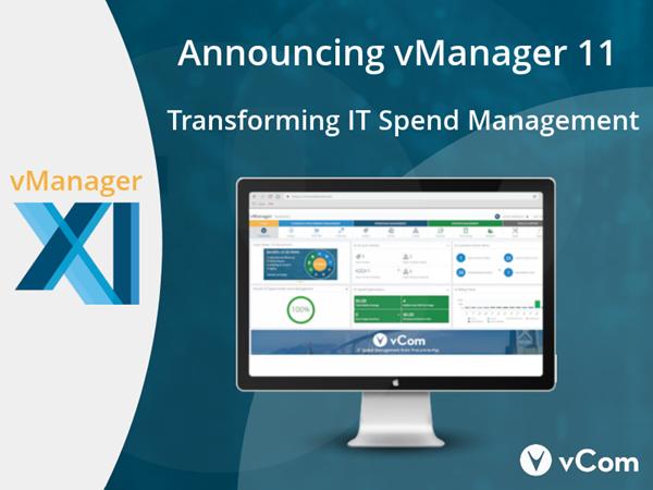 vCom's vManager 11 Software Platform