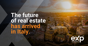 One of the Fastest-growing Global Real Estate Companies Extends its Footprint In Continental Europe, With the Opening of eXp Italy